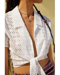 Jennifer Zeuner - X Uo Heart Lariat Necklace - Lyst