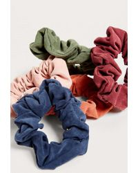 Urban Outfitters Days Of The Week Scrunchie Set - Womens All