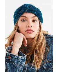 Urban Outfitters - Valentina Velvet Headwrap - Lyst