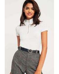 Urban Outfitters - Circle Buckle Leather Belt - Womens L - Lyst