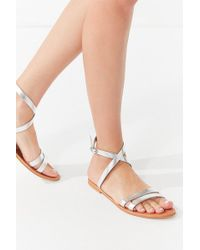 Urban Outfitters | Cleo Wrap Sandal | Lyst