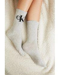 Calvin Klein - Logo Crew Socks - Lyst