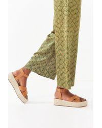 Urban Outfitters - Cora Flatform Espadrille Sandal - Lyst