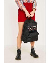 1f1b286040 Vans Realm Classic Women s Backpack In Black in Black - Lyst