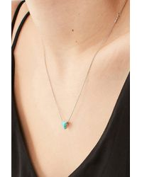 Urban Outfitters - Cecilia Delicate Triangle Pendant Necklace - Lyst
