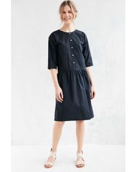 Objects Without Meaning - For Uo Drop Waist Midi Dress - Lyst