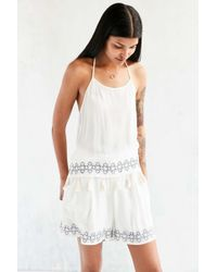 Native Youth - Embroidered Trouser Short - Lyst