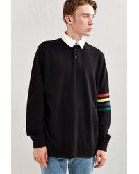Lazy Oaf - Arm Stripe Rugby Shirt - Lyst