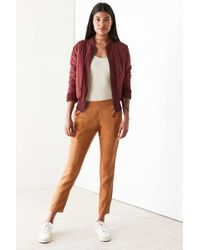 Silence + Noise - Riley Washed Pull-on Pant - Lyst