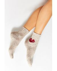 Urban Outfitters - Conversational Crew Sock - Lyst