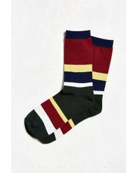 Urban Outfitters | Rugby Stripe Sock | Lyst