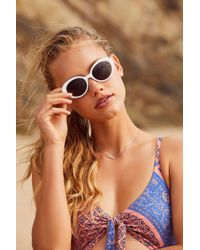 Urban Outfitters - Sadie Oval Sunglasses - Lyst