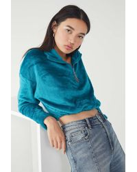 Urban Outfitters - Uo Angela Fleece Pullover Top - Lyst