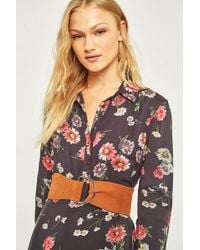 Urban Outfitters - Suede D-ring Belt - Lyst