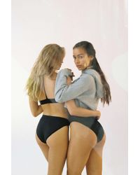 Out From Under - Markie Seamless Ribbed Bikini - Lyst
