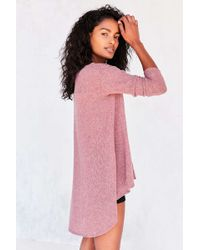 Kimchi Blue - Blaire High/low Tunic Sweater - Lyst