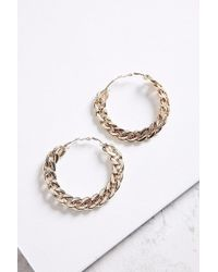 Urban Outfitters - Statement Chain Hoop Earring - Lyst