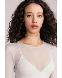 Urban Outfitters - Laura Rhinestone Choker Necklace - Lyst