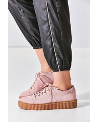 Urban Outfitters - Hollie Suede Creeper Sneaker - Lyst