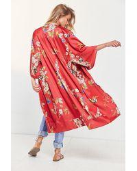 Kimchi Blue - Isabel Longline Kimono - Lyst
