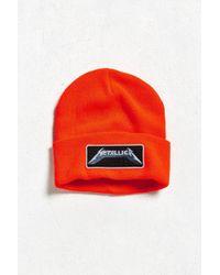 Urban Outfitters - Metallica Beanie - Lyst