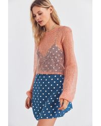 Kimchi Blue - Sunny Sheer Pullover Sweater - Lyst