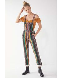 BDG - Marcy Striped Overall - Lyst