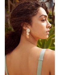 Urban Outfitters - Joan Half Moon Drop Earring - Lyst