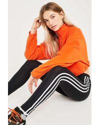 274d010af53f adidas Originals 3-stripes Floral Infill Leggings in Black - Lyst