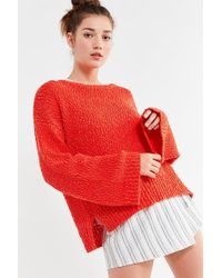 Urban Outfitters - Uo Callie Yarn Knit Sweater - Lyst