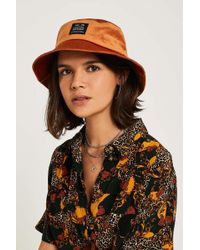 382d29bf4f1 Urban Outfitters - Uo Utility Velour Bucket Hat - Womens All - Lyst