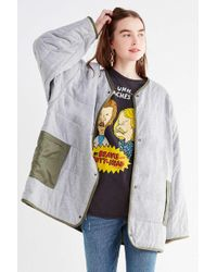Urban Outfitters - Uo Lightweight Reversible Liner Jacket - Lyst