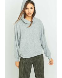 Project Social T - X Out From Under Janie Grey Batwing Hoodie - Lyst