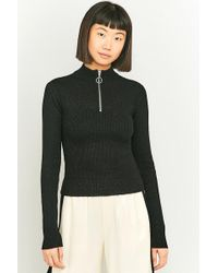 Sparkle & Fade - Zip-up Sparkle Jumper - Lyst