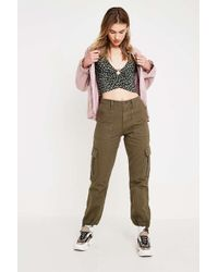 BDG - Authentic Khaki Cargo Trousers - Lyst