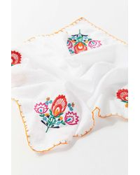 Urban Outfitters - Uo Embroidered Bandana - Lyst