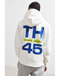 Tommy Hilfiger - Tommy Jeans '90s Sailing Logo Hoodie Sweatshirt - Lyst