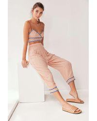 Out From Under - Tori Cropped Pant - Lyst