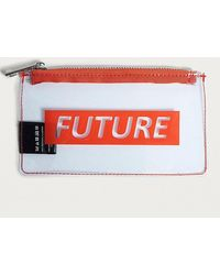Urban Outfitters - Future Clear Zipper Pouch - Lyst
