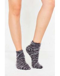 Out From Under - Feathery Marled Ankle Sock - Lyst