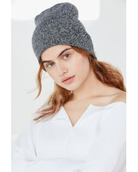 Urban Outfitters - Double Knit Essential Beanie - Lyst