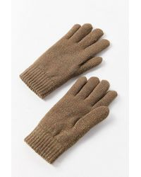 Urban Outfitters - Glitter Chenille-lined Glove - Lyst