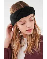 Urban Outfitters - Braided Knit Headband - Lyst