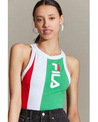 Fila - Fila + Uo Alana Colorblock Bodysuit - Lyst