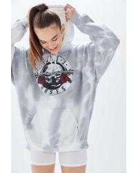 Urban Outfitters - Guns N' Roses Tie-dye Hoodie Sweatshirt - Lyst