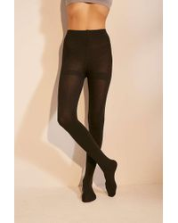 Out From Under - Fleece-lined Tights - Womens S/m - Lyst