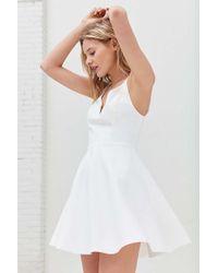 Kimchi Blue - Heart Of The Ocean Sweetheart Mini Dress - Lyst