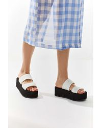 7afa6cbcbf1 Urban Outfitters - Uo Ava Neoprene Platform Sandal - Lyst