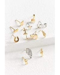Urban Outfitters - Iconic Post Earring Set - Lyst