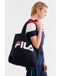 Fila - Fila Canvas Tote Bag - Lyst